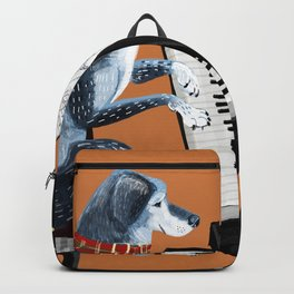 Piano lesson ( Doggy Art ) Backpack