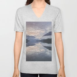 Mornings like this - Landscape and Nature Photography Unisex V-Neck