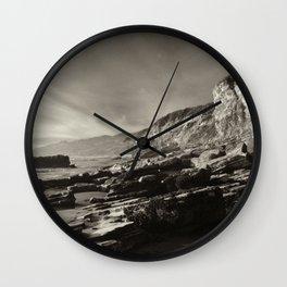 Slant Wall Clock