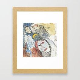 primitiva Framed Art Print