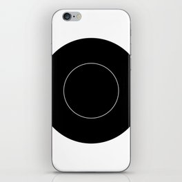 cutlery with plate iPhone Skin