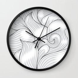 Motif Abstrait Wall Clock