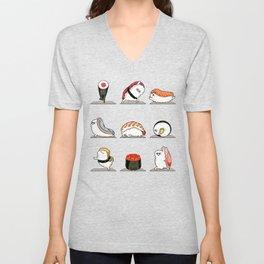 Sushi Yoga Unisex V-Neck
