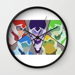 Paladins of Voltron - Voltron Legendary Defender Wall Clock