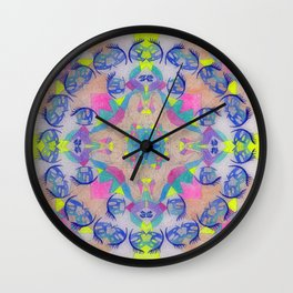 Inner Space 1 Wall Clock