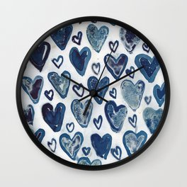 Hearts aplenty. Wall Clock