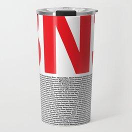 Hove BN3 Print Travel Mug