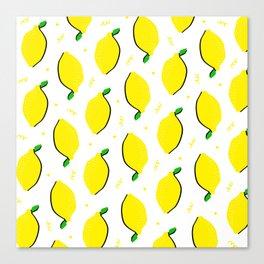 Lemon Squeezy 02 Canvas Print