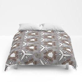Zebra inspired digital print Comforters