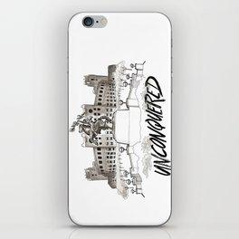 Unconquered - FSU Print iPhone Skin