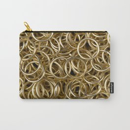 Gold Rings Carry-All Pouch