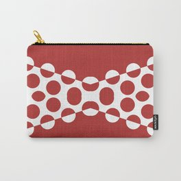 CVPA20031 Red Afternoon Bubbles Carry-All Pouch