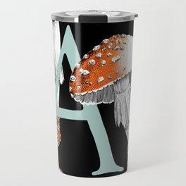 A is for Amanita muscaria Travel Mug