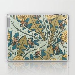 Art Nouveau Dandelion Pattern Laptop & iPad Skin
