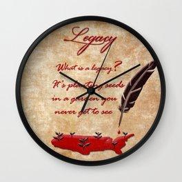 Hamilton Legacy Wall Clock