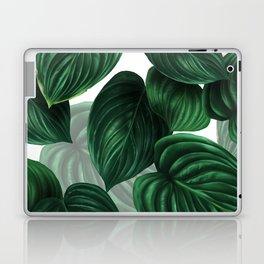 tropical green pattern Laptop & iPad Skin