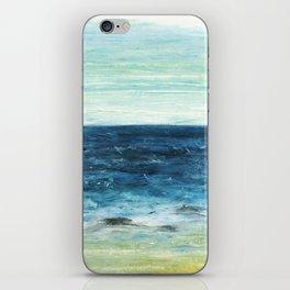 Horizon at the Baltic sea iPhone Skin