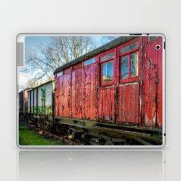 Old Train Wagon Laptop & iPad Skin