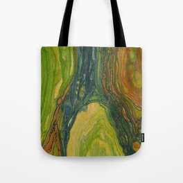 The Excavation of a Luminous Chamber (Enchanted Chemical Abyss) Tote Bag