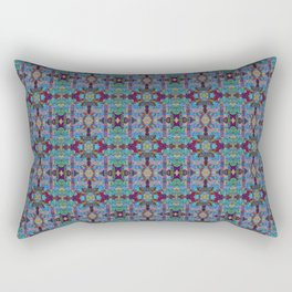 Overshot Pattern Rectangular Pillow