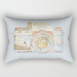 TRAVEL NIK0N Rectangular Pillow