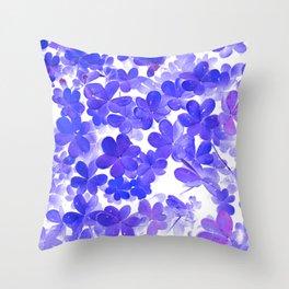 Clover XI Throw Pillow