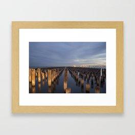 Eligant Night Framed Art Print