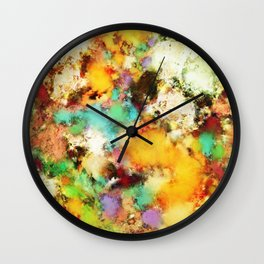 A distorted impact Wall Clock