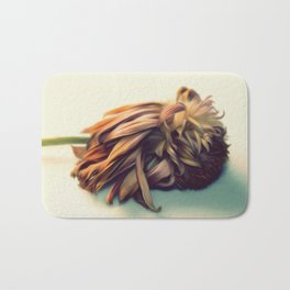 WITHERED FLOWER Bath Mat