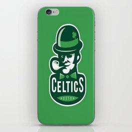 Boston Celtics's logo iPhone Skin