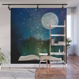 Open Your Imagination Wall Mural