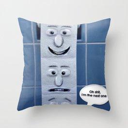 Oh !!! Throw Pillow