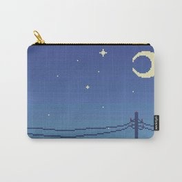 Telephone Wires Carry-All Pouch