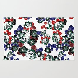 Cool Floral texture Rug