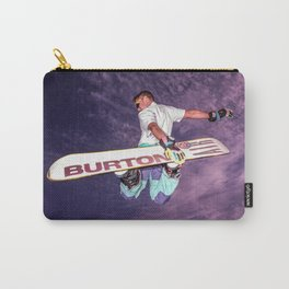 Snowboarding #2 Carry-All Pouch