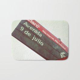 9 de Julio Bath Mat