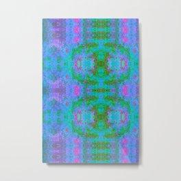 Sedated Abstraction II (Ultraviolet) Metal Print