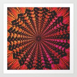 Spiraling Down Art Print