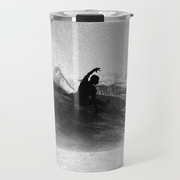 Iconic Indo Surfer Travel Mug
