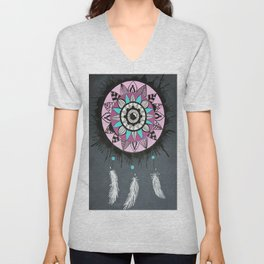 Mandala Dreamcatcher Unisex V-Neck