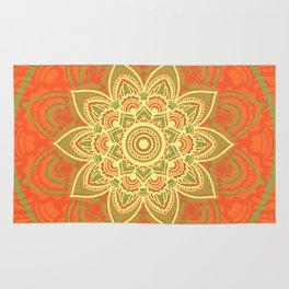Autumn Mandala Rug