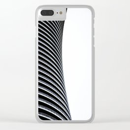 Abstract Architecture Curves Clear iPhone Case