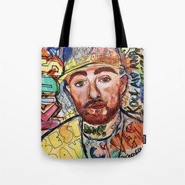 mac miller,rip,kids,drawing,painting,sketch,colourful,colorful,lyrics,rap,hiphop,art,poster,fan Tote Bag