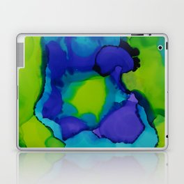 Purple and green dreams Laptop & iPad Skin