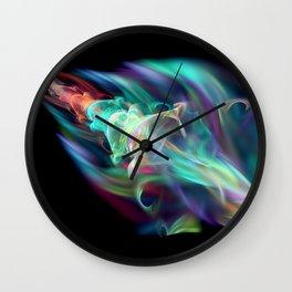 Crash Landing Wall Clock
