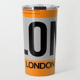 LON London Luggage Tag 1 Travel Mug