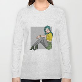 Grunge Chic Long Sleeve T-shirt
