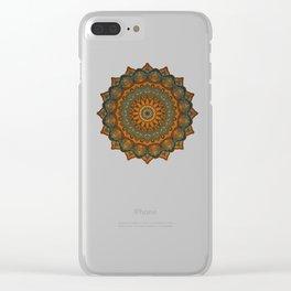 Moroccan sun Clear iPhone Case