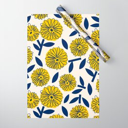 Floral_blossom Wrapping Paper