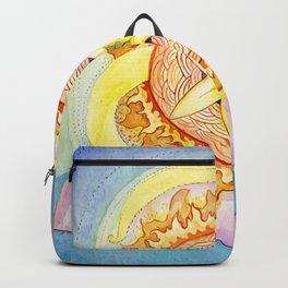 Triskelion sunshine Backpack